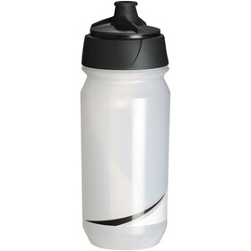 Tacx Shanti Twist Drinking Bottle 500ml, transparent/black
